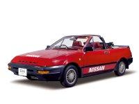 Nissan Pulsar, N12, Exa кабриолет, 1982–1986