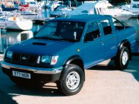 Nissan Pick UP, D22, Crew cab пикап 4-дв., 1997–2001
