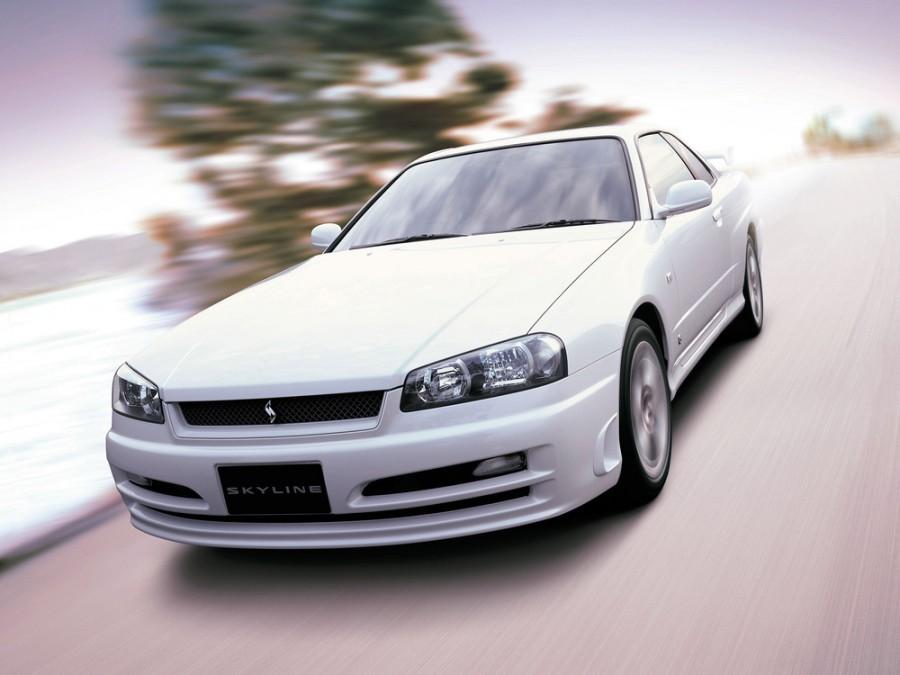 Nissan Skyline GT купе 2-дв., 1998–2002, R34 - отзывы, фото и характеристики на Car.ru
