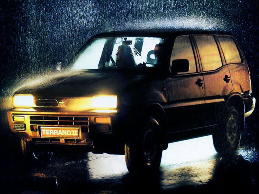 Nissan Terrano внедорожник 5-дв., 1993–1996, R20 - отзывы, фото и характеристики на Car.ru