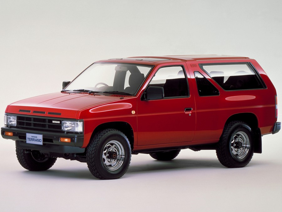 Nissan Terrano внедорожник 3-дв., 1987–1995, WD21 - отзывы, фото и характеристики на Car.ru