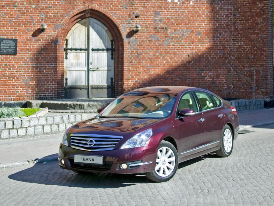 Nissan Teana седан, 2008–2014, J32 - отзывы, фото и характеристики на Car.ru