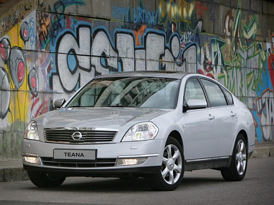 Nissan Teana седан, 2003–2008, J31 - отзывы, фото и характеристики на Car.ru