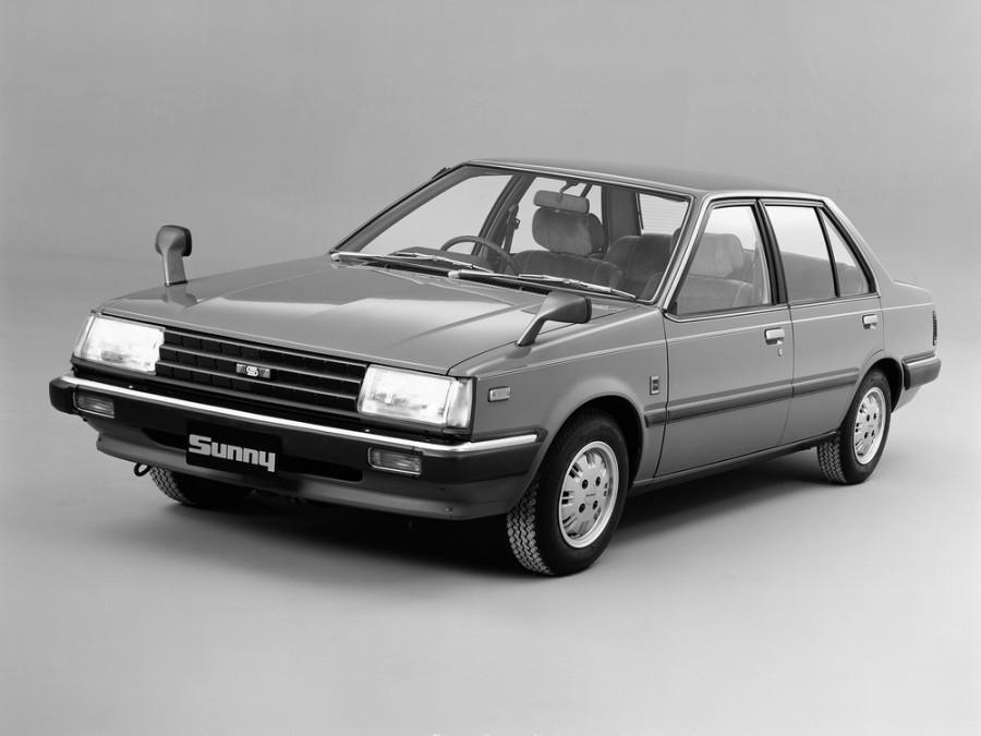 Nissan Sunny седан, 1981–1985, B11 - отзывы, фото и характеристики на Car.ru