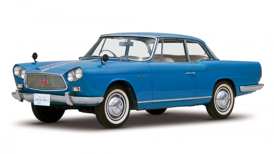 Nissan Skyline BLRA-3 купе, 1958–1963, ALSI-2 [рестайлинг] - отзывы, фото и характеристики на Car.ru