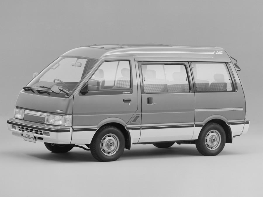 Nissan Vanette минивэн, 1990–1995, C22 - отзывы, фото и характеристики на Car.ru