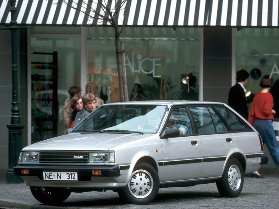 Nissan Sunny универсал, 1981–1985, B11 - отзывы, фото и характеристики на Car.ru