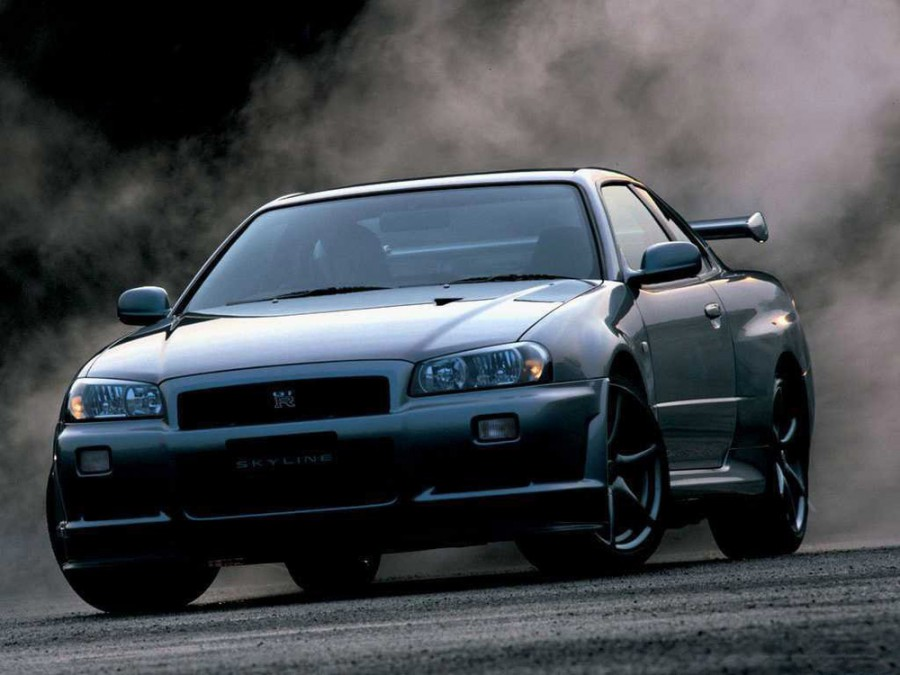 Nissan Skyline GT-R купе 2-дв., 1998–2002, R34 - отзывы, фото и характеристики на Car.ru