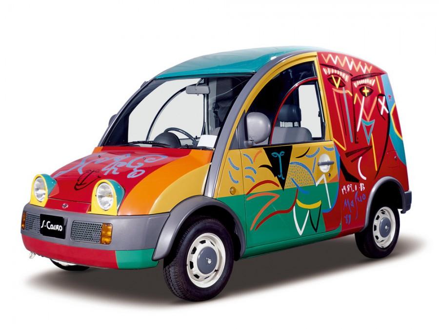 Nissan S-Cargo фургон 3-дв., 1989–1990, R-G20 - отзывы, фото и характеристики на Car.ru