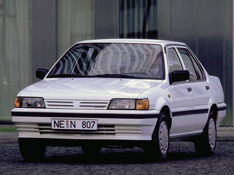 Nissan Sunny седан, 1986–1991, N13 - отзывы, фото и характеристики на Car.ru