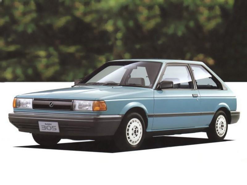 Nissan Sunny 305 хетчбэк, 1990–1995, B13 - отзывы, фото и характеристики на Car.ru