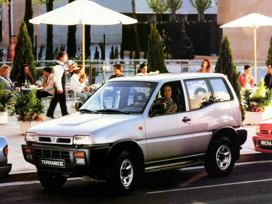 Nissan Terrano внедорожник 3-дв., 1993–1996, R20 - отзывы, фото и характеристики на Car.ru