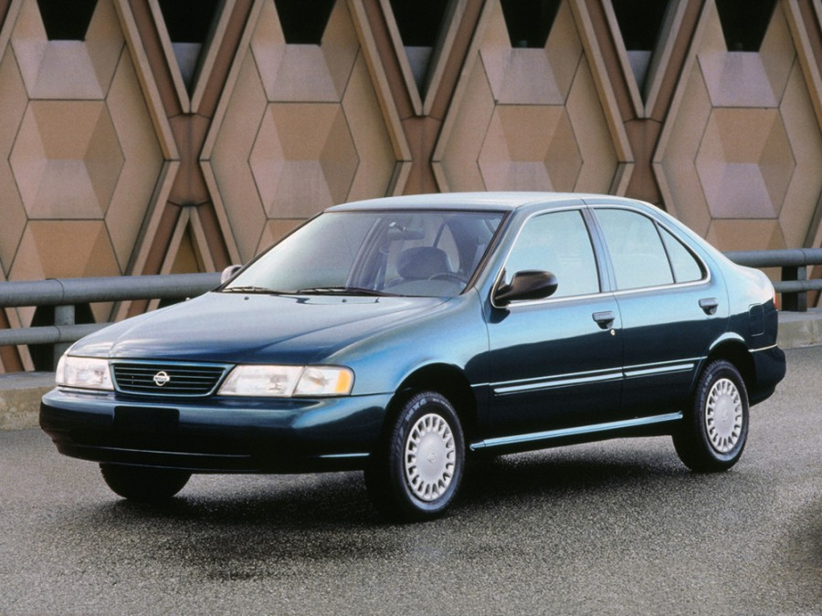 Nissan Sentra седан, 1995–1999, B14 - отзывы, фото и характеристики на Car.ru