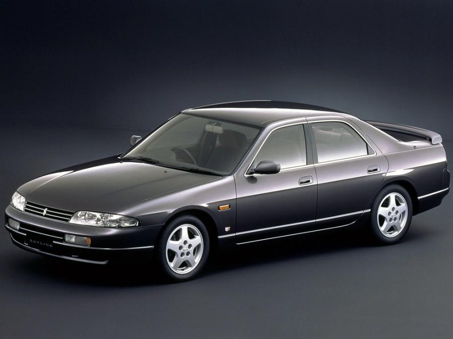 Nissan Skyline седан, 1993–2016, R33 - отзывы, фото и характеристики на Car.ru