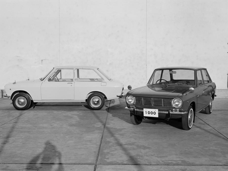 Nissan Sunny седан 2-дв., 1966–1970, B10 - отзывы, фото и характеристики на Car.ru