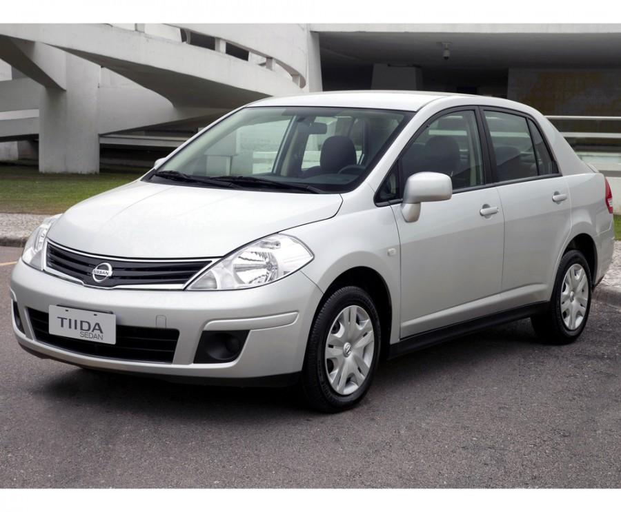 Nissan Tiida седан, 2010–2014, C11 [рестайлинг] - отзывы, фото и характеристики на Car.ru