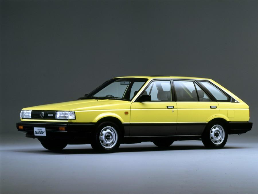 Nissan Sunny California универсал, 1986–1991, B12 - отзывы, фото и характеристики на Car.ru