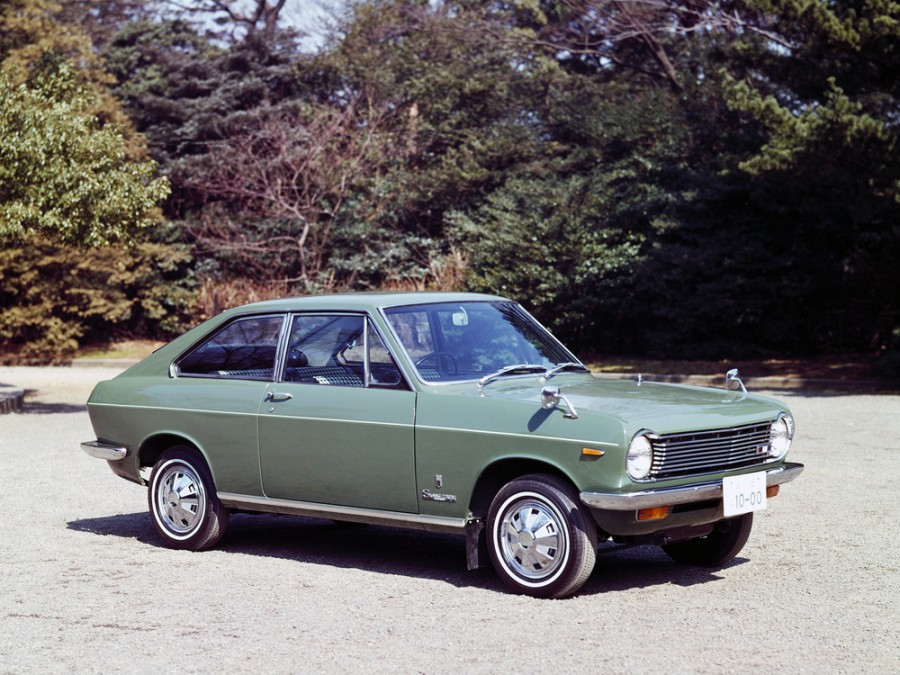 Nissan Sunny KB10 купе, 1966–1970, B10 - отзывы, фото и характеристики на Car.ru