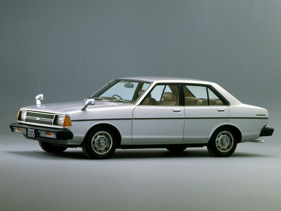 Nissan Sunny седан, 1979–1981, B310 - отзывы, фото и характеристики на Car.ru
