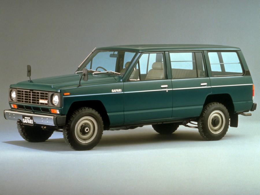 Nissan Safari Station Wagon AD универсал, 1980–1985, 160 - отзывы, фото и характеристики на Car.ru