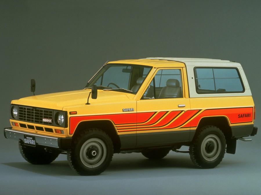Nissan Safari Hard Top пикап 2-дв., 1980–1985, 160 - отзывы, фото и характеристики на Car.ru