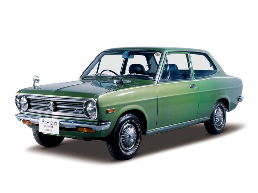 Nissan Sunny седан, 1970–1973, B110 - отзывы, фото и характеристики на Car.ru