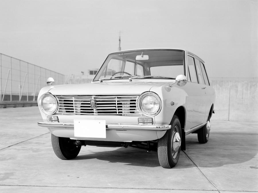 Nissan Sunny VB10 универсал, 1966–1970, B10 - отзывы, фото и характеристики на Car.ru