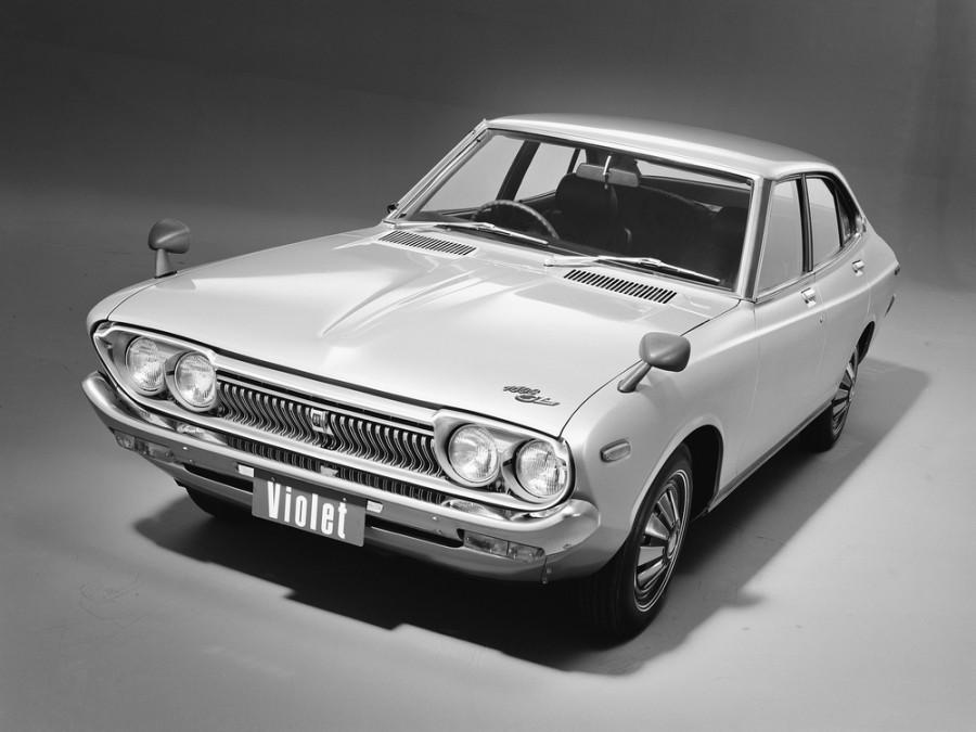 Nissan Violet седан, 1973–1977, 710 - отзывы, фото и характеристики на Car.ru