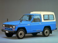 Nissan Safari, 160, Hard top ad пикап 2-дв., 1980–1985