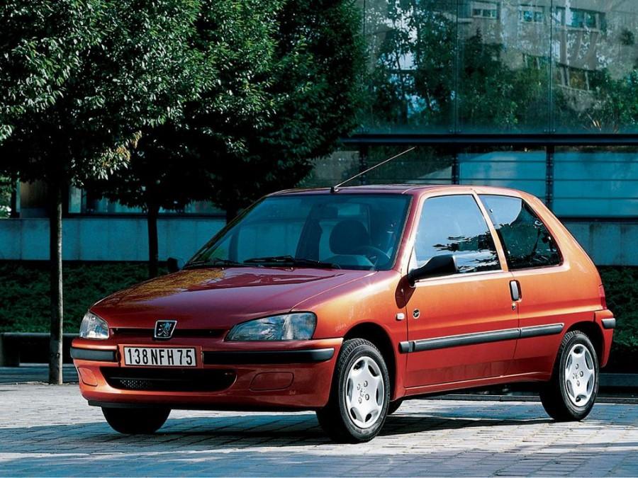 Peugeot 106 хетчбэк 3-дв., 1996–2003, 1 поколение [рестайлинг] - отзывы, фото и характеристики на Car.ru