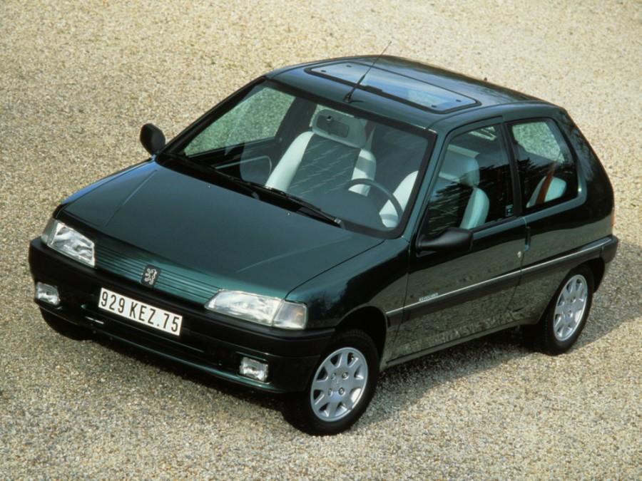 Peugeot 106 хетчбэк, 1991–1996, 1 поколение - отзывы, фото и характеристики на Car.ru