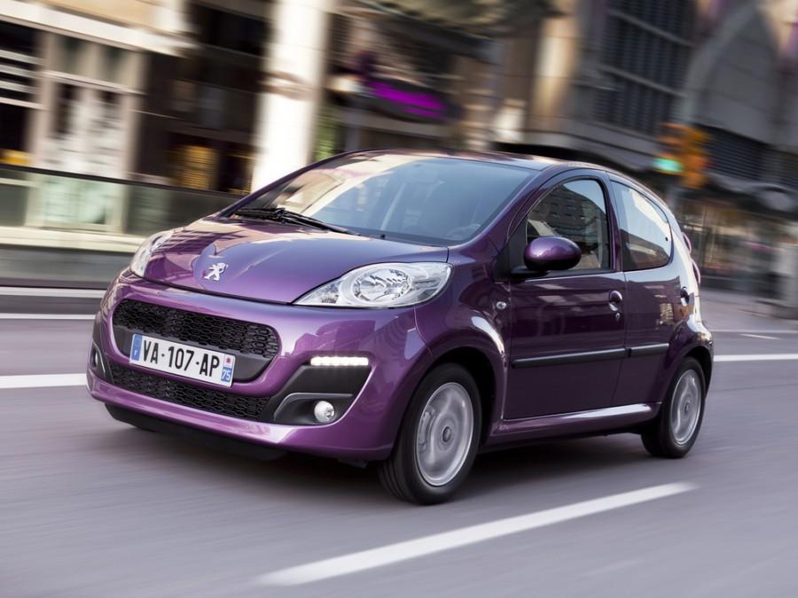Peugeot 107 хетчбэк 5-дв., 2012–2015, 1 поколение [2-й рестайлинг] - отзывы, фото и характеристики на Car.ru