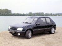 Peugeot 205, 1 поколение [рестайлинг], Хетчбэк, 1984–1998