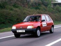 Peugeot 205, 1 поколение, Хетчбэк 5-дв., 1983–2016