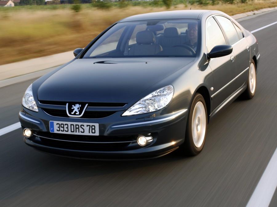 Peugeot 607 седан, 2004–2008, 1 поколение [рестайлинг] - отзывы, фото и характеристики на Car.ru