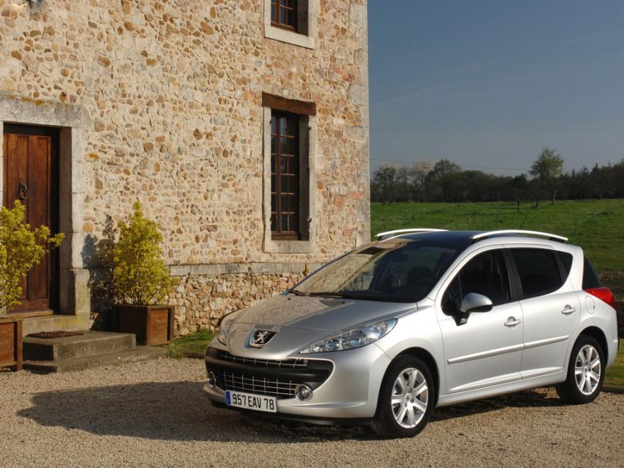 Peugeot 207 универсал 5-дв., 2006–2009, 1 поколение - отзывы, фото и характеристики на Car.ru