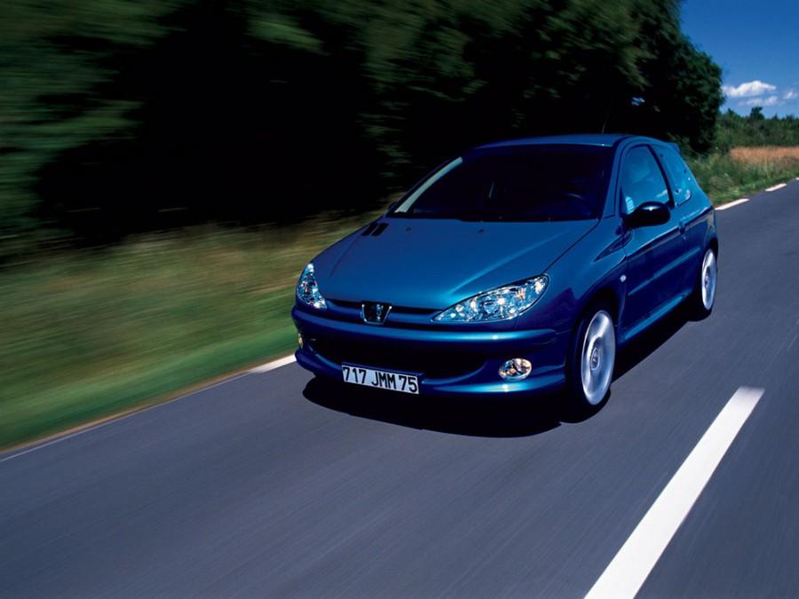 Peugeot 206 RC хетчбэк 3-дв., 2002–2009, 1 поколение [рестайлинг] - отзывы, фото и характеристики на Car.ru