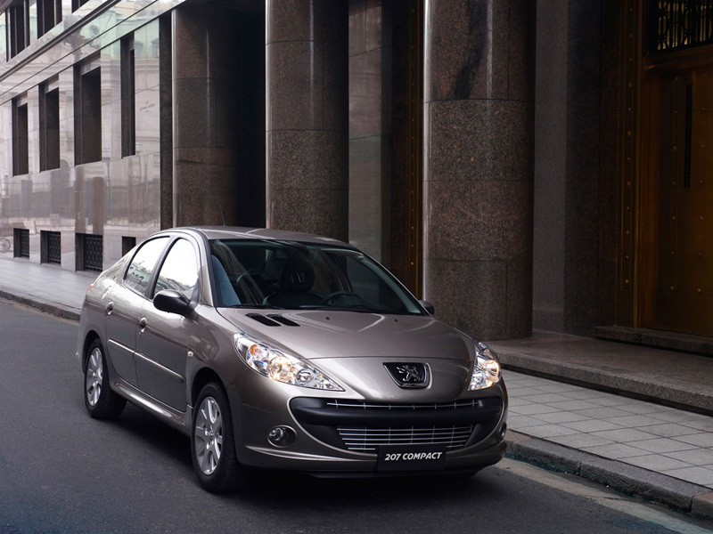 Peugeot 207 седан, 2006–2009, 1 поколение - отзывы, фото и характеристики на Car.ru