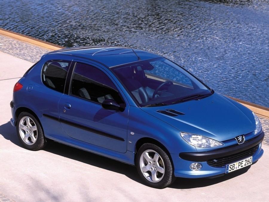 Peugeot 206 хетчбэк 3-дв., 1998–2003, 1 поколение - отзывы, фото и характеристики на Car.ru