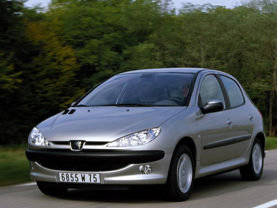 Peugeot 206 хетчбэк 5-дв., 2002–2009, 1 поколение [рестайлинг] - отзывы, фото и характеристики на Car.ru
