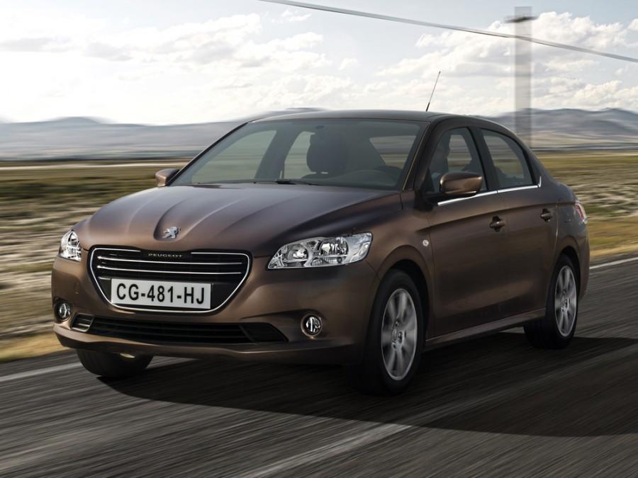 Peugeot 301 седан, 2012–2016, 2 поколение - отзывы, фото и характеристики на Car.ru
