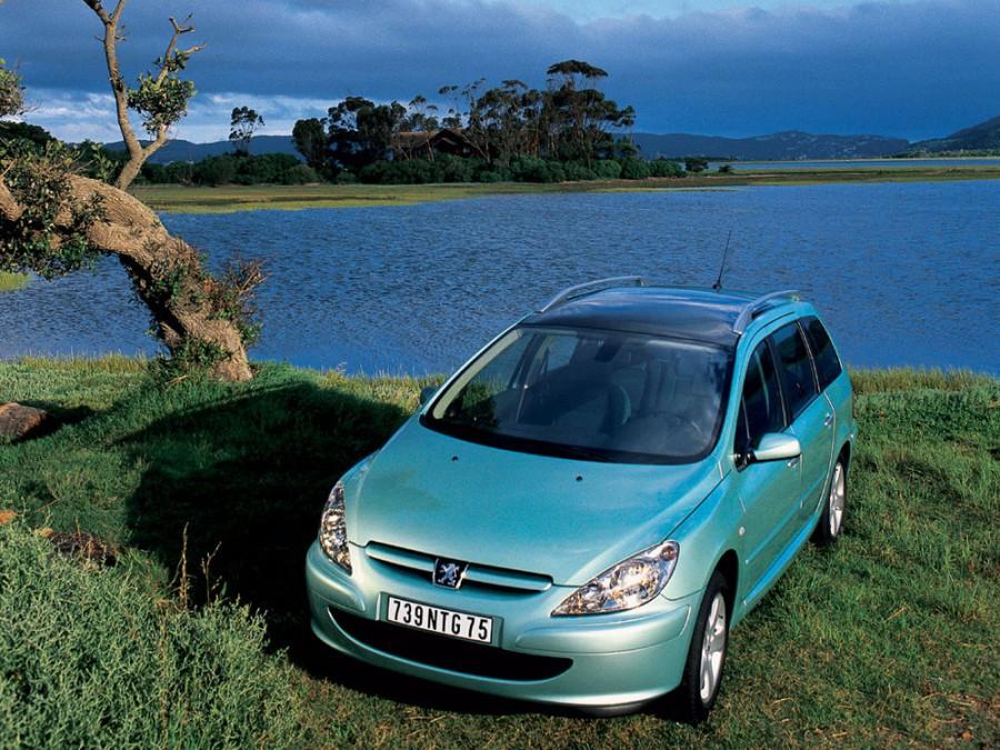 Peugeot 307 универсал, 2001–2005, 1 поколение - отзывы, фото и характеристики на Car.ru