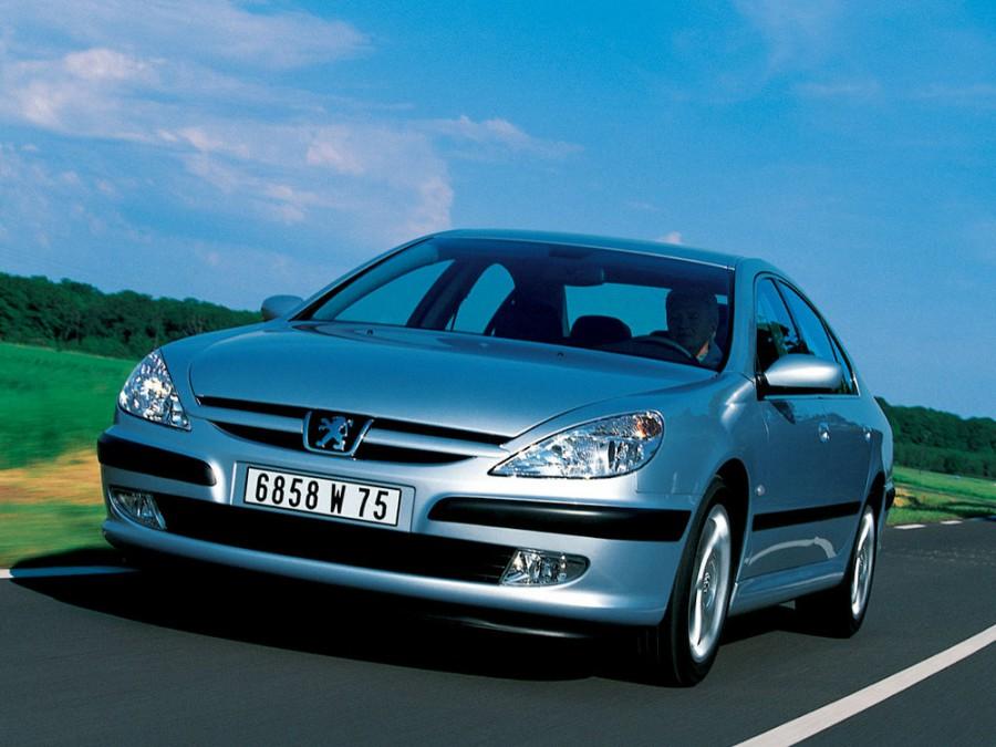 Peugeot 607 седан, 2000–2004, 1 поколение, 2.2 HDi MT (133 л.с.), характеристики