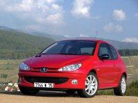Peugeot 206, 1 поколение [рестайлинг], Хетчбэк 3-дв., 2002–2009