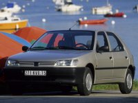 Peugeot 306, 1 поколение, Хетчбэк 5-дв., 1993–2016