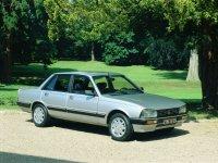 Peugeot 505, 1 поколение [рестайлинг], Седан, 1985–1992