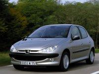 Peugeot 206, 1 поколение [рестайлинг], Хетчбэк 5-дв., 2002–2009