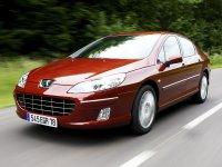 Peugeot 407, 1 поколение [рестайлинг], Седан, 2008–2010