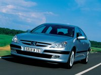 Peugeot 607, 1 поколение, Седан, 2000–2004