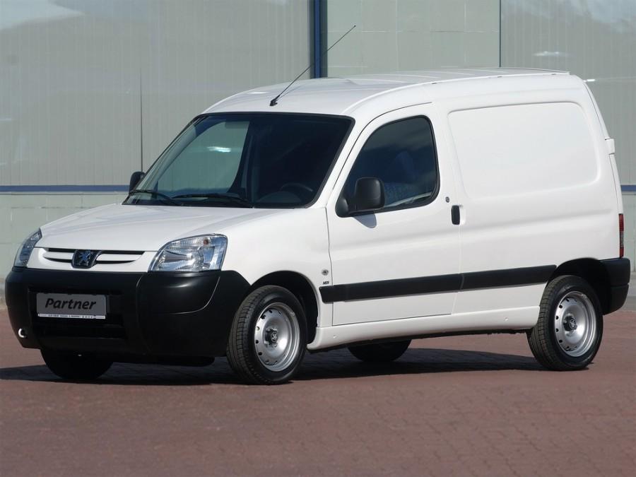 Peugeot Partner VU фургон 4-дв., 2002–2012, Origin [рестайлинг] - отзывы, фото и характеристики на Car.ru